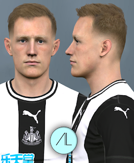 PES 2017 Faces Sean Longstaff by Alief