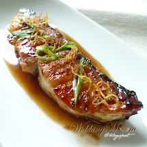 ' Wokking Threadfin With Ginger Sauce