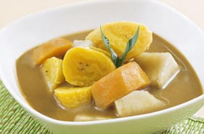 kolak pisang enak menu takjil buka puasa ramadhan
