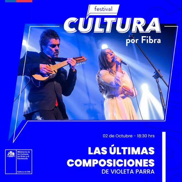 Las Últimas Composiciones de Violeta Parra encabeza las celebraciones del Día de la Música Chilena musica chilena música chilena