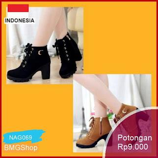 NAG069 Sepatu Boots Korea Import Murah Bmgshop
