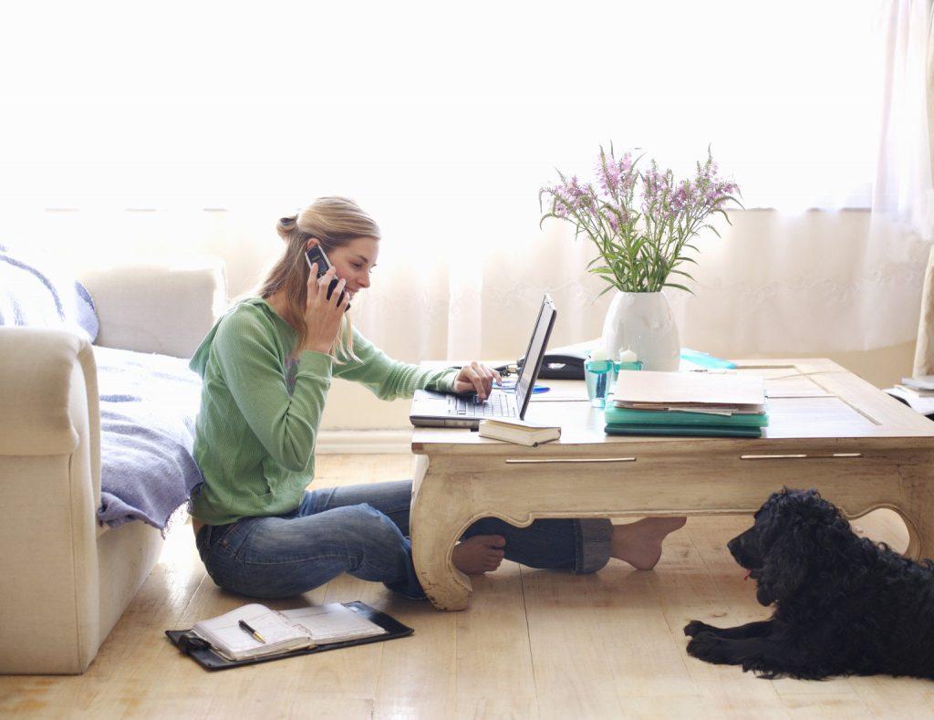 Ganhe dinheiro trabalhando em casa – comece agora