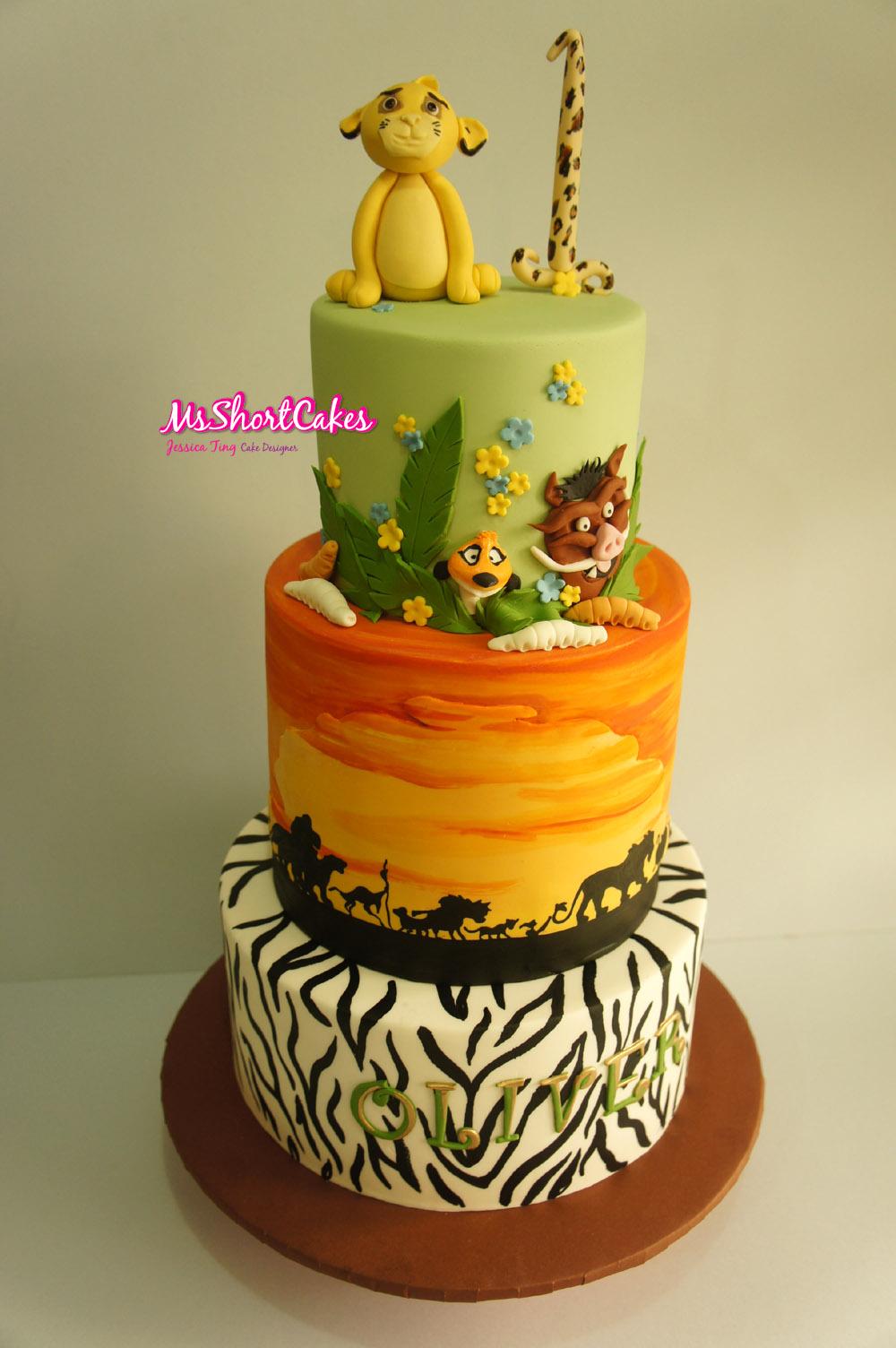 Miss Shortcakes A Lion King Party