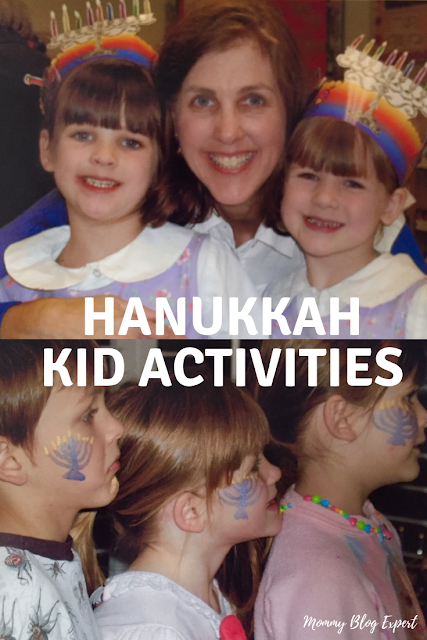 Chanukah DIY Hats Face Painting