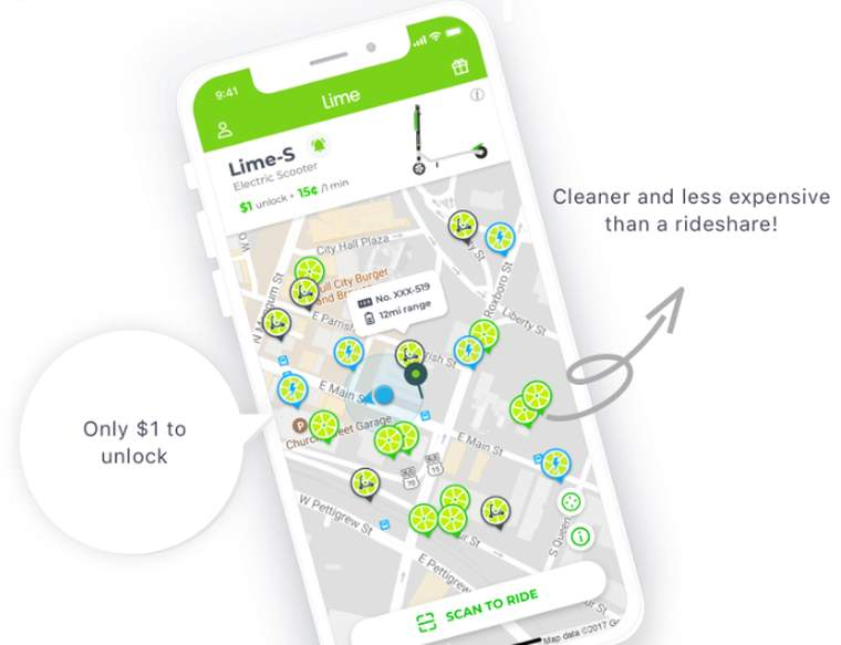 Lime servicio bike-sharing e-bikes,