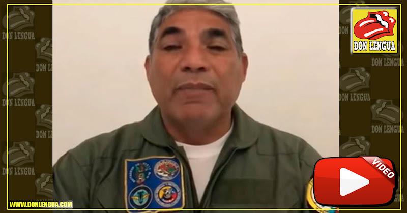 Mayor General Jorge Oropeza se pronuncia contra el régimen de Maduro respalda a Juan Guaidó