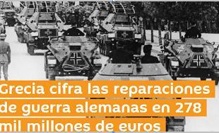 Athen bekräftigt Reparationsansprüche