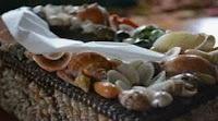 kerajinan dari cangkang kerang laut