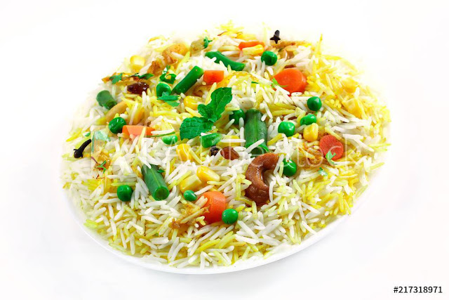 How To Make Veg Biryani.