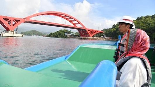 Top! Jokowi akan Resmikan Jembatan Terpanjang di Papua