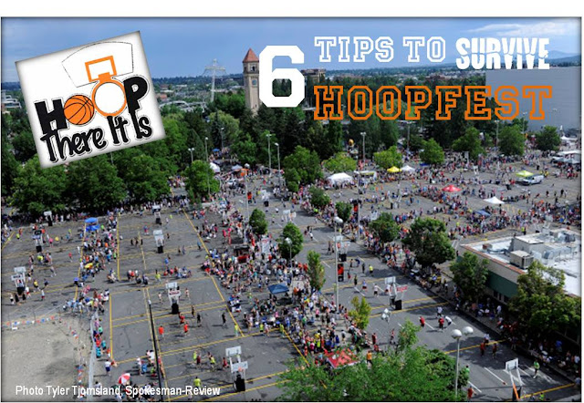 6 tips to survive hoopfest, spokane hoofest, tips for hoopfest spokane