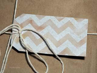 Scrap Cardboard Gift Tags