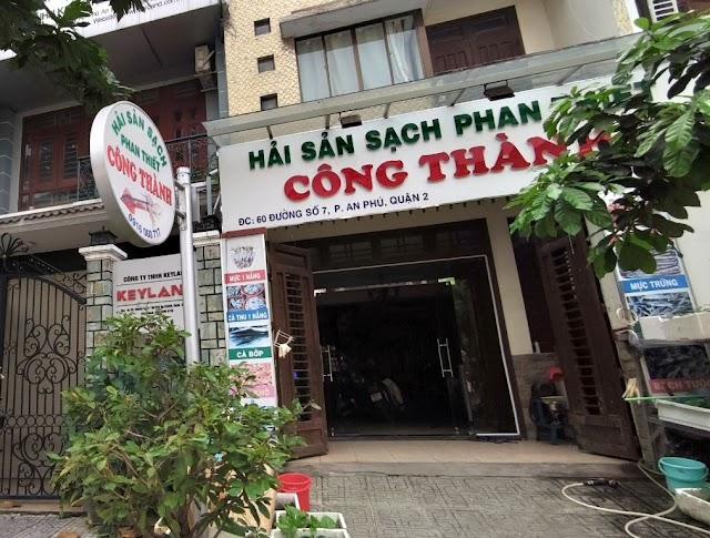 Địa chỉ Hải sản sạch Công Thành: 60 Đường số 7, An Phú, Quận 2