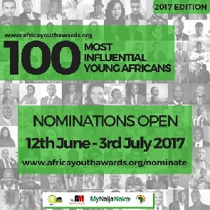 Nomination opens for 2017 100 Most Influential Young Africans