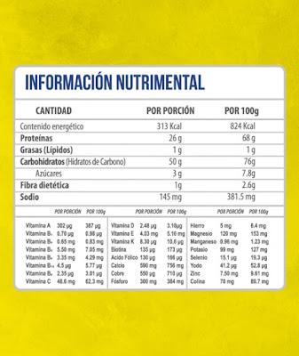 Gainer 15 lbs - precio ( $700 pesos ) OFERTA | Musculo Musculo