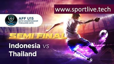 Semi Final AFF U15 Championship
