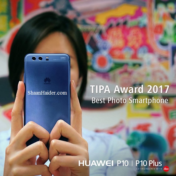 Huawei P10 and P10 Plus Win the TIPA Award 2017 for Best Photo Smartphone