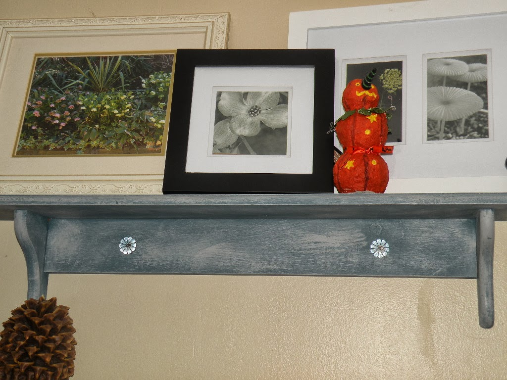 Pine Wall Shelves Upcycled With As Chalk Paint