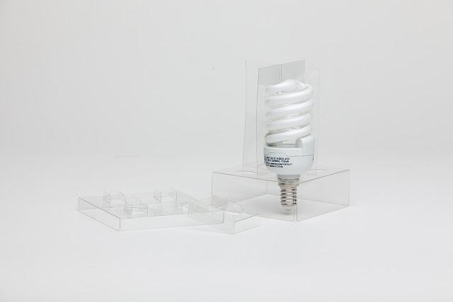 Hộp nhựa đựng bóng đèn