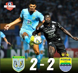 Persela Lamongan vs Persib Bandung 2-2 Full Highlights