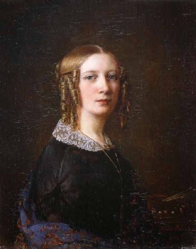 Autoportrait, Sophia Albertine Adlersparre
