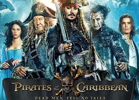Download Pirates of the Caribbean: Dead Men Tell No Tales (2017) Dual Audio [Hindi+English] 720p + 1080p Bluray ESub