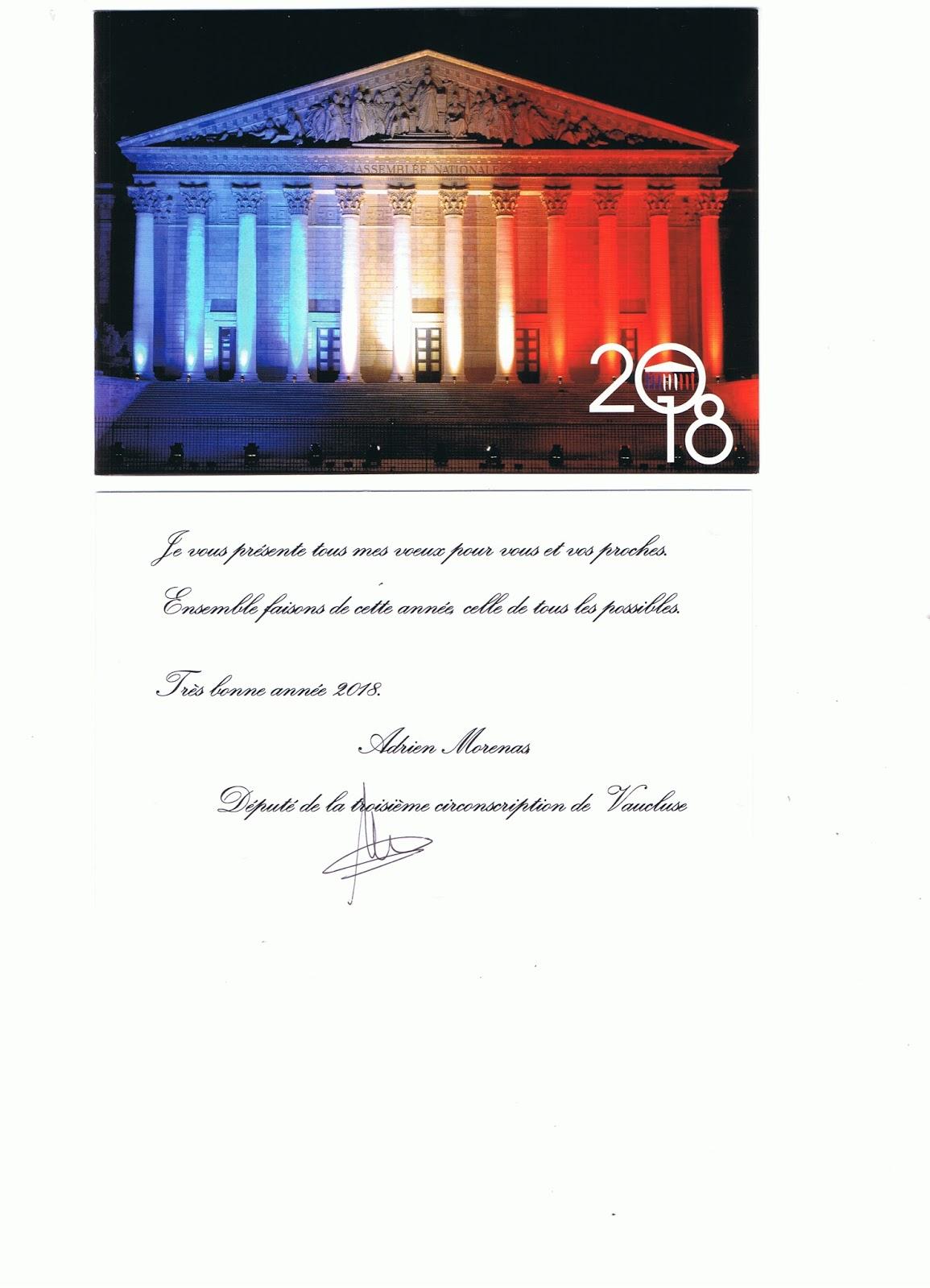 vaucluse 21 janvier 2018