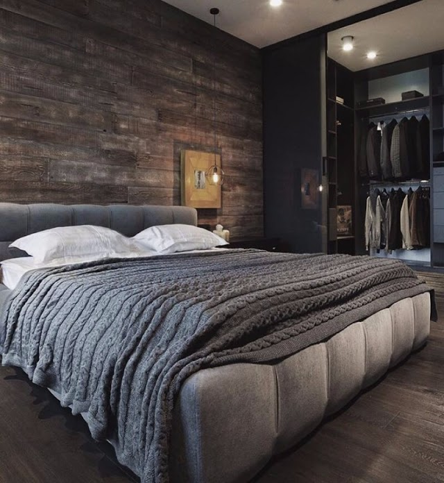 Beautiful Bedroom Wall Panel And Accent Wall Ideas