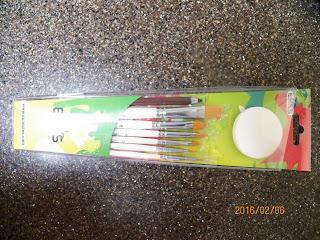 Eunectes paint brush set 2