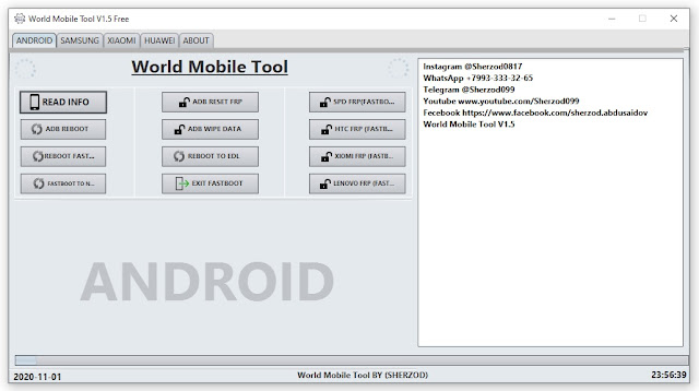 World Mobile Tool V1.5 Latest Version Free Download