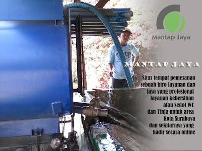 Jasa Tinja Sedot WC Kupang Surabaya