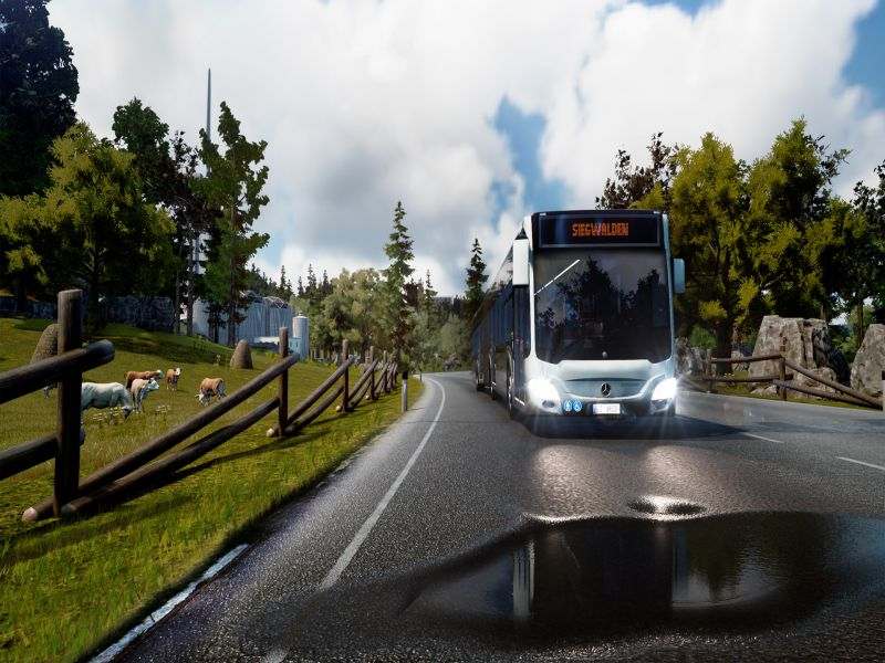 Bus Simulator 18 Highly Compressed Free Download