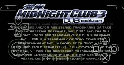 Midnight 3 Dub Edition ISO CSO