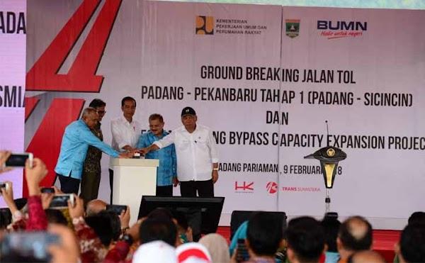 Proyek Tol Padang - Pekanbaru Dikabarkan Disetop, Ini Respons PUPR dan Gubernur