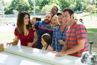 Grown Ups 2 Adam Sandler Salma Hayek