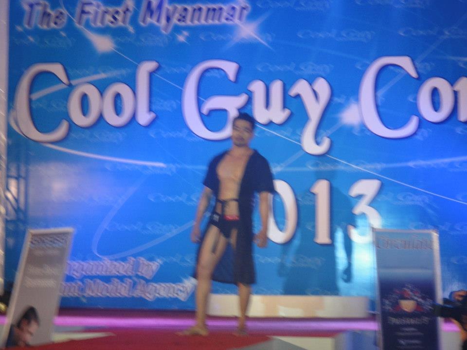 M y a n m a r H u n k s: The First Myanmar Cool Guy Contest 2013 Winner Min Lu Lu