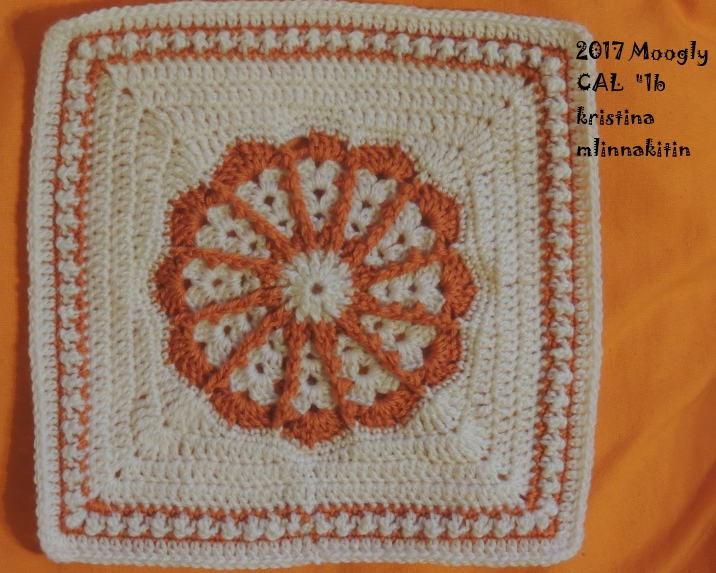 Crochet Along 2017 : Mlin nakitin: Dekca 2017 oziroma Moogly crochet along