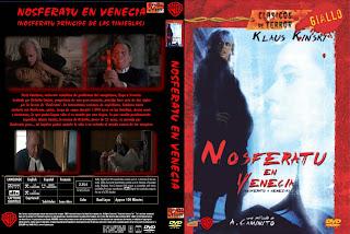 Carátula dvd: Nosferatu, príncipe de las tinieblas
