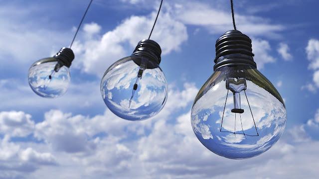 Light Bulb in Sky
