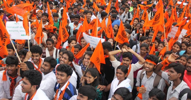 ABVP made Sufrah clean, saffron city of Karna in all the colleges of Palwal district