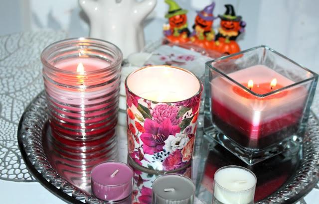 Zapachowe świece od Bispol