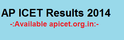 AP ICET Results 2014