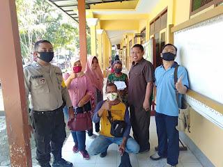 Masyarakat Desa Mayang Terima Pembagian Kartu BPNT
