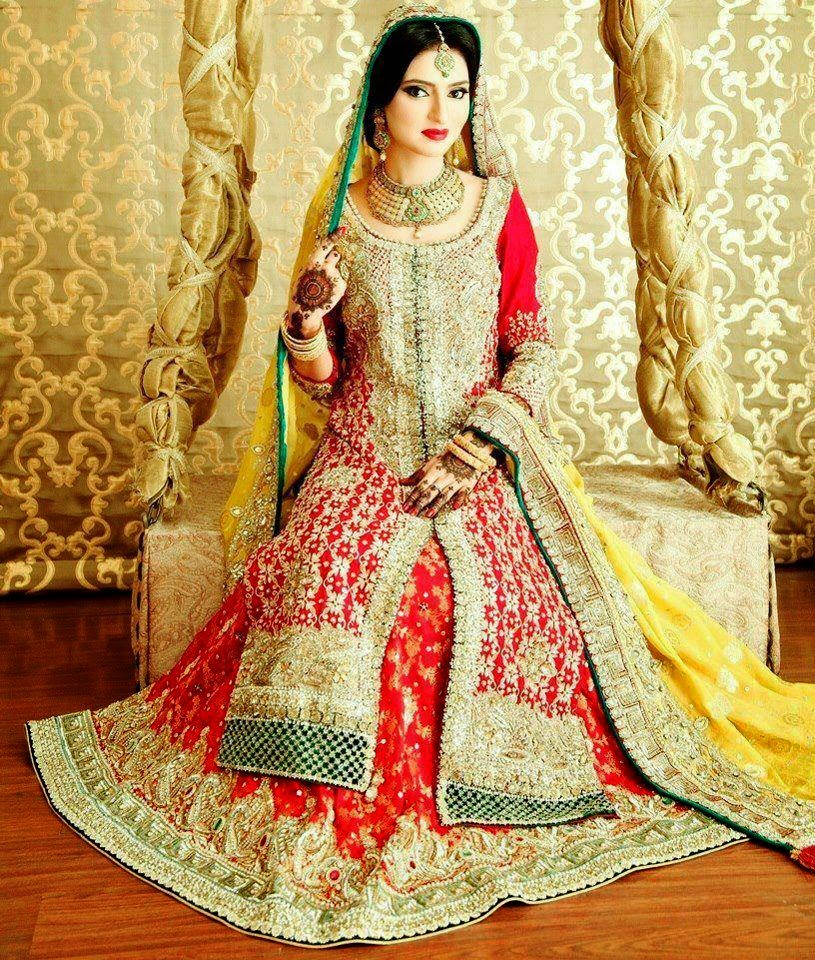 Pakistani Indian Wedding Dress