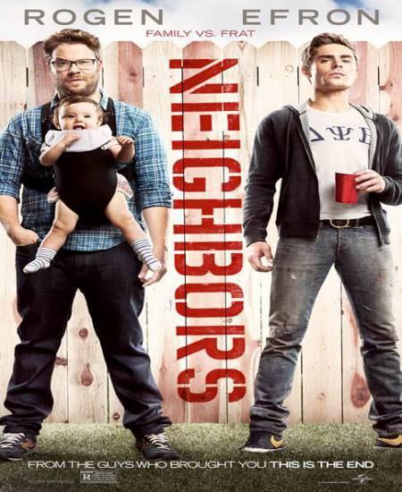 Neighbors (2014) Dual Audio Hindi ORG 480p BluRay 350MB ESub Download