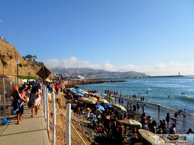 Costa Verde en Barranco Lima