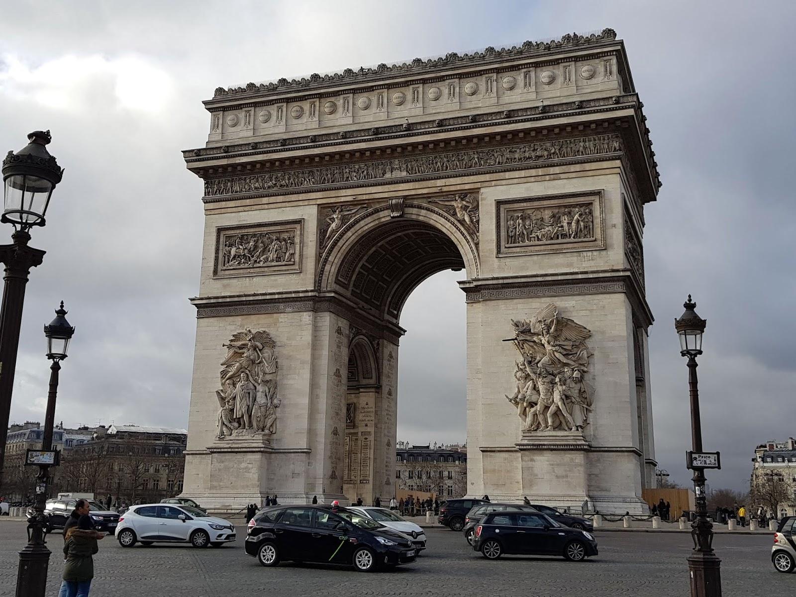 Arco do Triunfo Paris