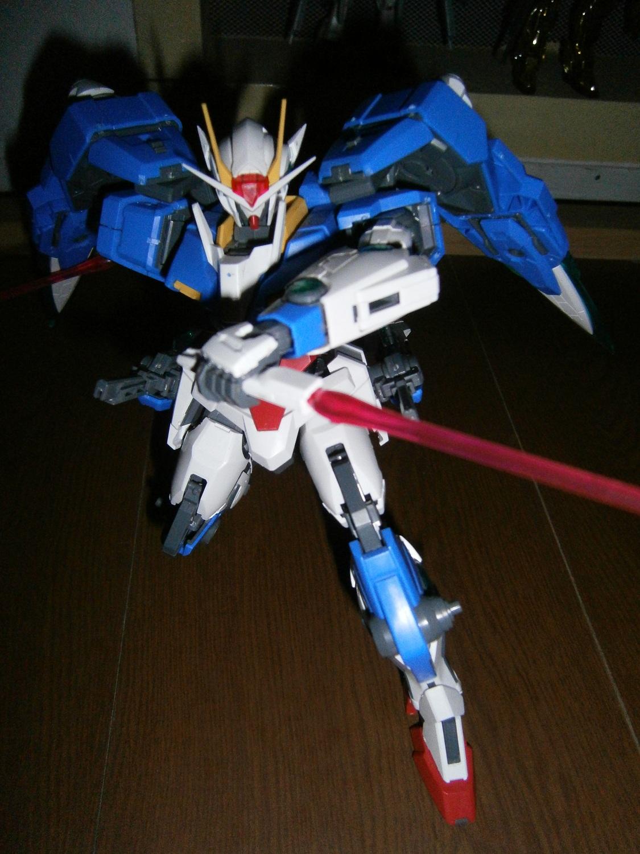 00 Gundam Seven Sword Mg Review Part 4 Gundam3r