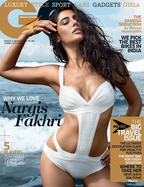 Nargis Fakhri on GQ Magazine