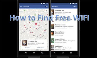 How to Find Free WIFI Networks on Facebook?